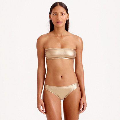 Am I brave enough to wear a gold bikini this summer?  J.Crew