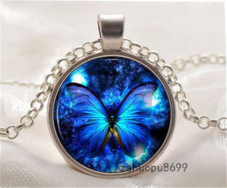 Pandantiv Fluture Albastru http://www.pandantivefashion.ro/cumpara/pandantiv-fluture-albastru-31