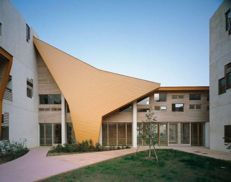 inariyama special education school by atsushi kitagawara architects. JAPAN.