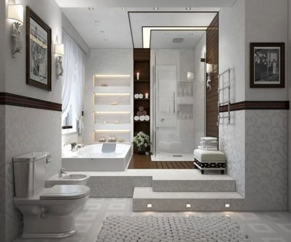 bathroom idea modern bathroom designcontemporary - Contemporary Bathroom Design Gallery