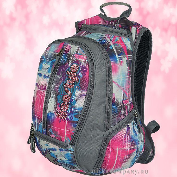 Рюкзак 29894 принт клетка, размеры 30*20*44 см 2000 руб #сумки #рюкзак #учеба #школа