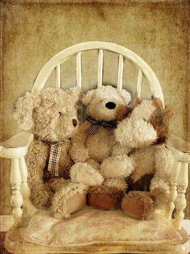 crystal puzzle teddy bear instruction