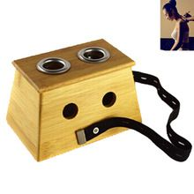 Two-holes Bambo wood Moxa Box for Acupuncture Points Moxibustion Massage //Price: $US $7.34 & FREE Shipping //