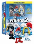 Los Pitufos 2 (Formato Blu-Ray + DVD) + 3 Figuras