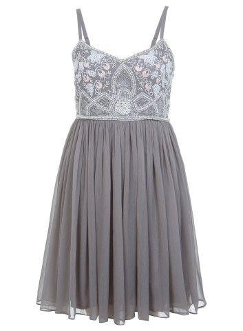 Beaded Babydoll Dress