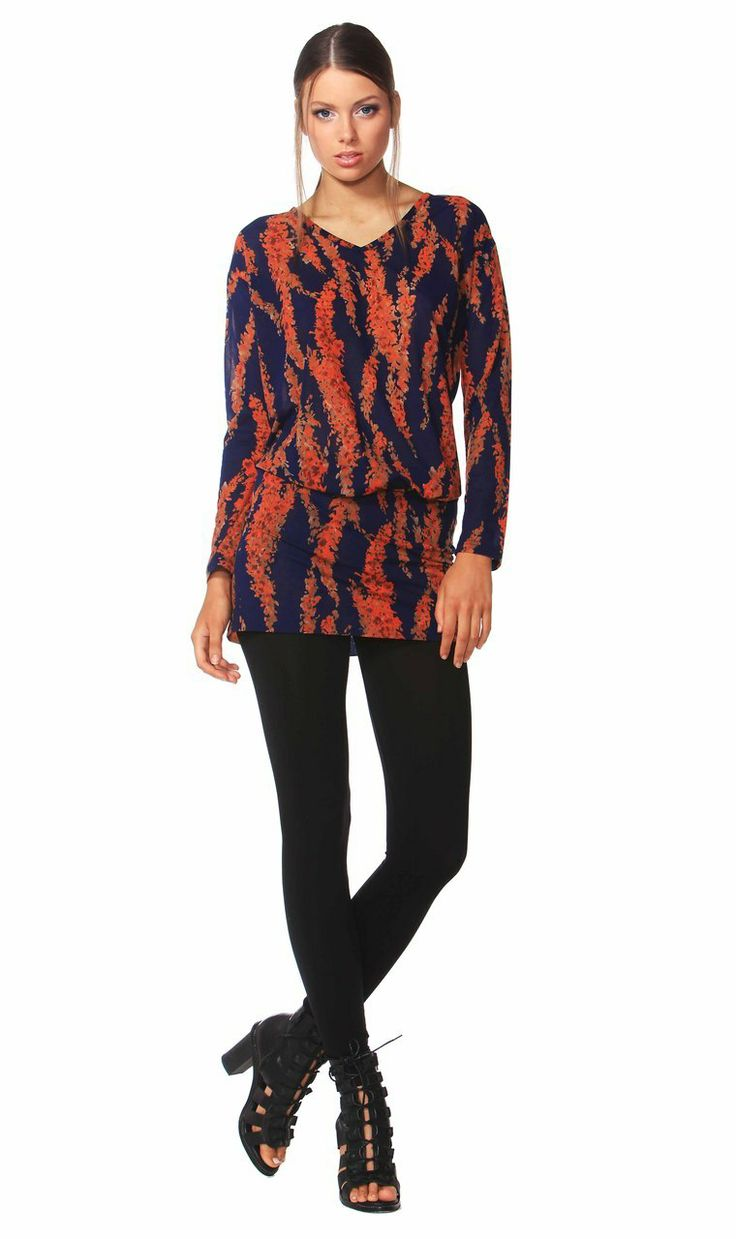 AlibiOnline - Tuscan Blooms Tunic by FATE, $95.95 (http://www.alibionline.com.au/tuscan-blooms-tunic-by-fate/)