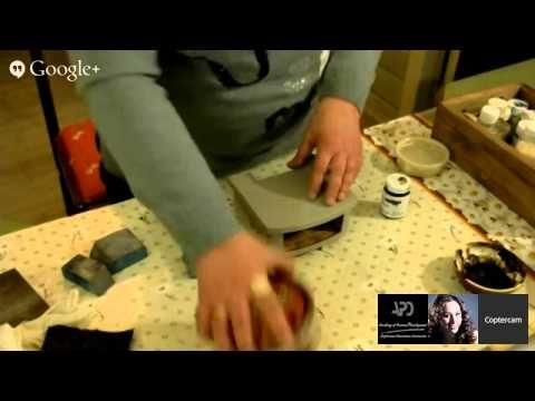 25 день Международного Декупажного Марафона - YouTube Любовь Митрофанова декупаж мебели