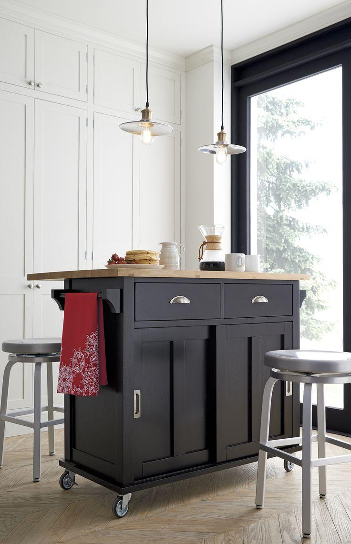 Best 25 contemporary kitchen island ideas on pinterest contemporary kitchens contemporary - Stylishly modern kitchen islands additional work surface ...