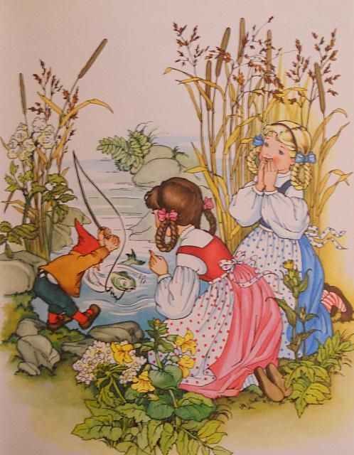 Grimms Fairy Tales - Snow White and Rose Red