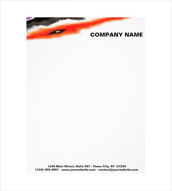 The 25+ Best Company Letterhead Template Ideas On Pinterest