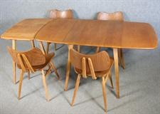 Ercol table with extension