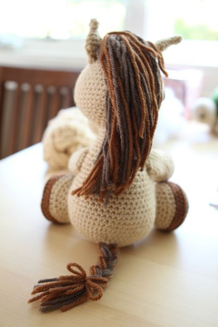 Amigurumi Crochet Pattern  Lucky the Horse