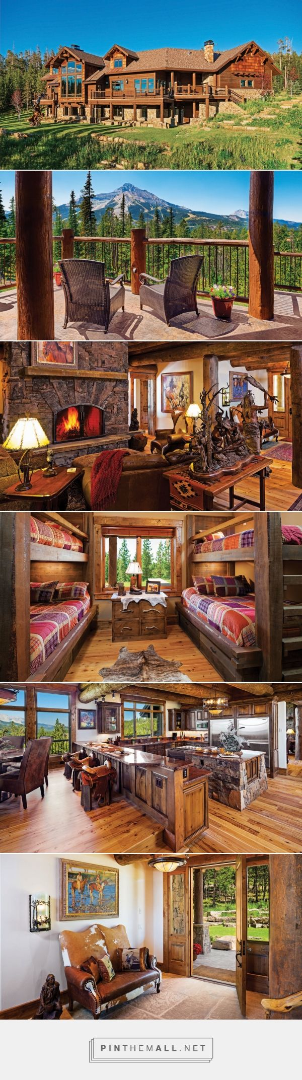 Gorgeous Mountain Lodge in Big Sky Country Montana