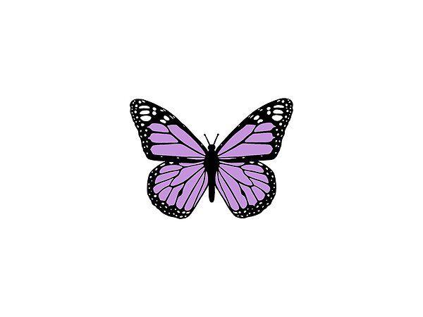 Matte Pastel Purple Bug Sticker