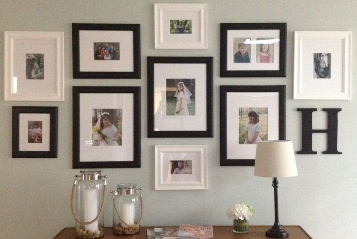 Gallery Wall My Designs Pinterest Initials Two