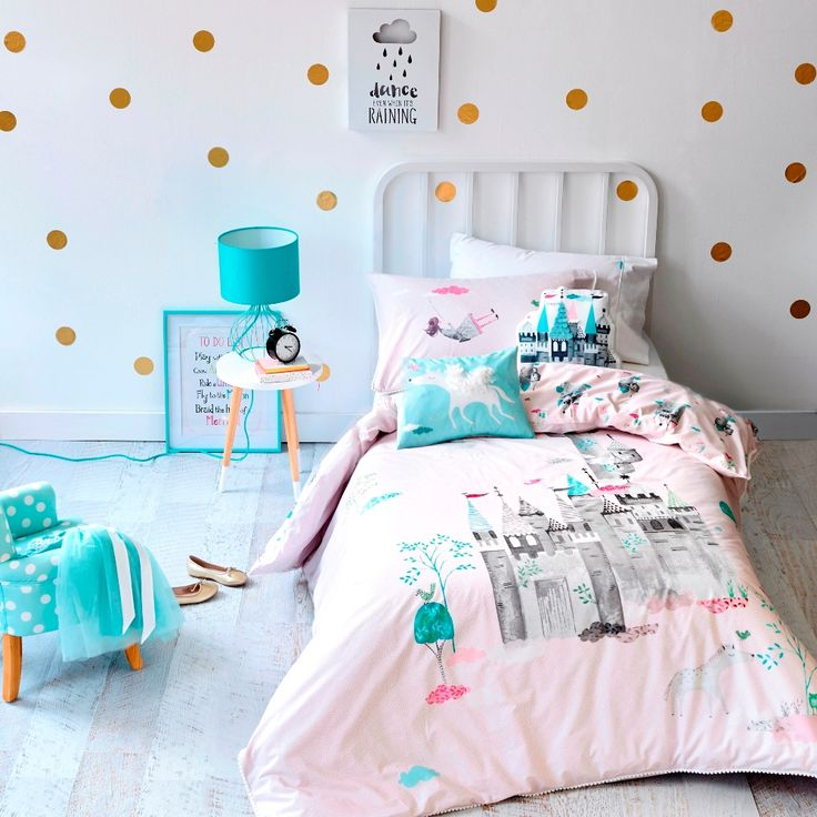 Adairs Kids Cloud Castle Bedlinen - Bedroom Quilt Covers & Coverlets - Adairs Kids online