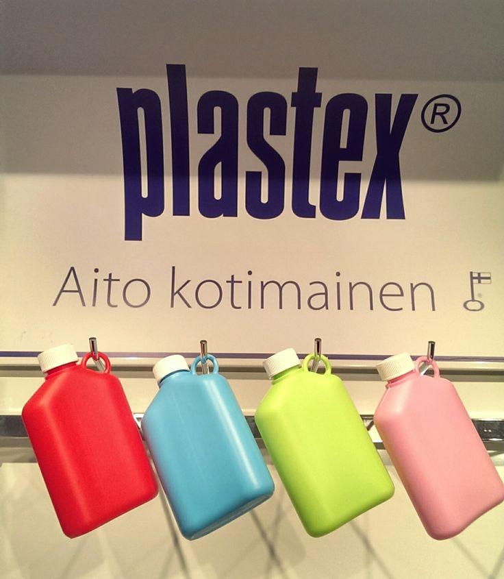 Aito kotimainen legendaarinen Taskumatti kevään uusilla pirteillä väreillä! The one and only flask from Plastex! Made in Finland.