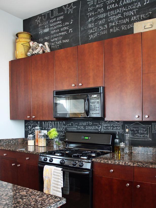 chalkboard paint ideas and projects backsplash ideaskitchen - Painted Backsplash Ideas Kitchen
