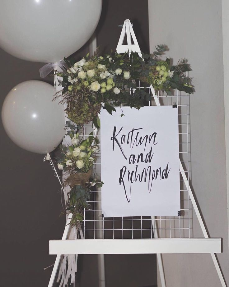 """21 Likes, 2 Comments - Dashi & Co (@dashi.co) on Instagram: """"Our easel and mesh welcome sign featured at Rich and Kaity's engagement 💍 ❤️"""""""