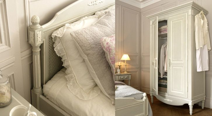 17 meilleures images propos de style charme shabby for Chambre style gustavien