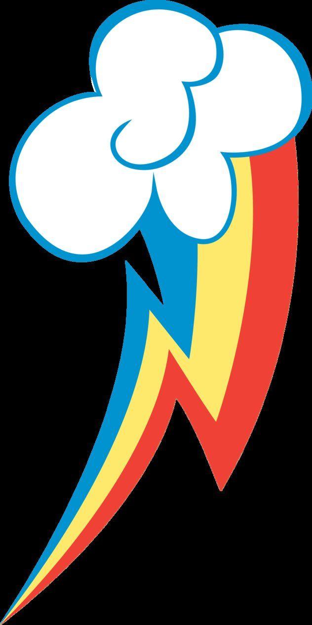 Rainbow Dash Cutie Mark by *BlackGryph0n on deviantART