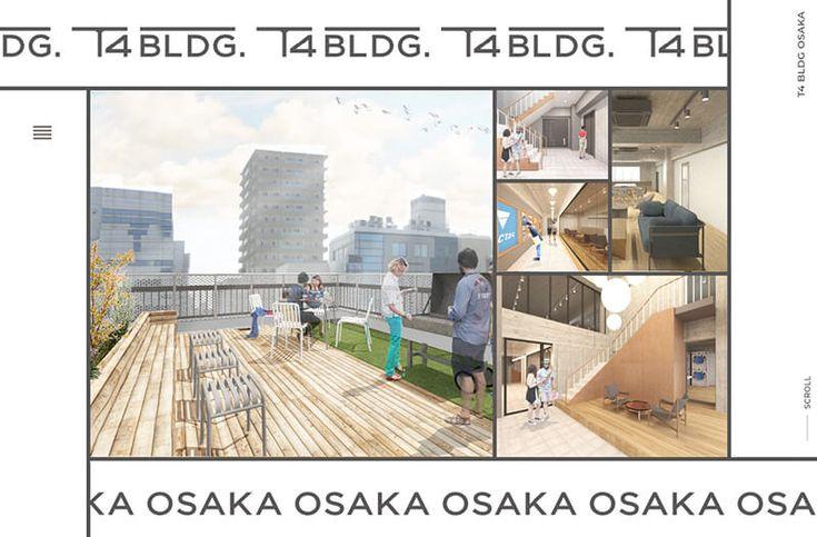 T4 BUILDING OSAKA | Web Design Clip