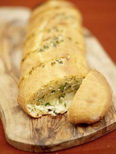 Receitas - Pão de alho feito em casa (Jamie Oliver) - Petiscos.com