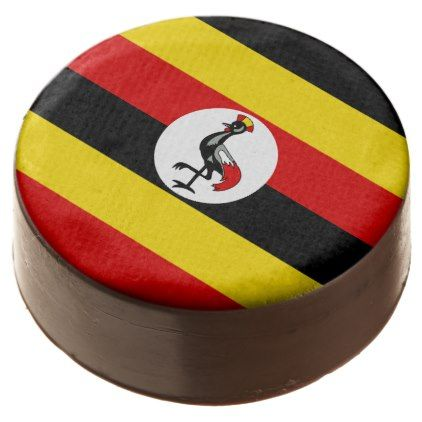 Uganda Flag Chocolate Dipped Oreo - kitchen gifts diy ideas decor special unique individual customized