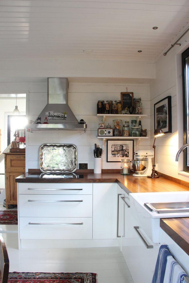 Keittiön valaistusasiaa - Pikkutalon elämää
