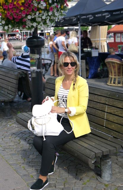 Fashion is for everybody!: Black and yellow