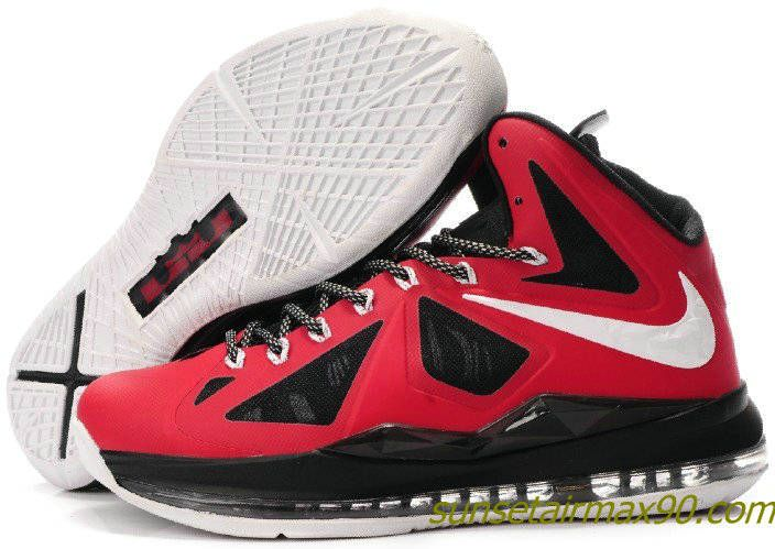 Nike Lebron 10 PE Red Black