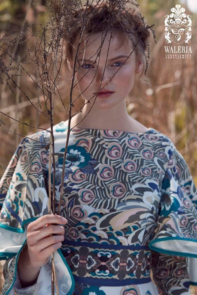 BLOSSOM, new collection by Waleria Tokarzewska - Karaszewicz, our graduate of Fashion School SAPU. #SzkolaMody #FashionSchool #fashion