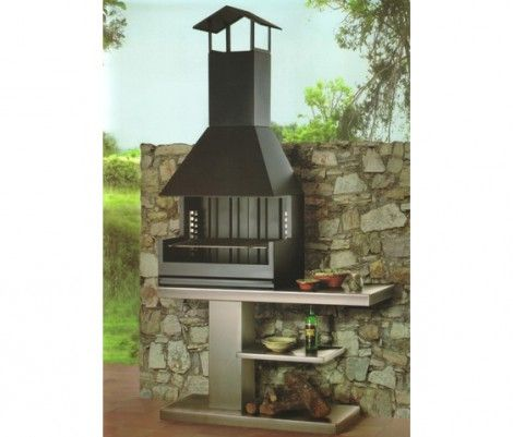 M s de 1000 ideas sobre asadores de acero inoxidable en for Asador para jardin
