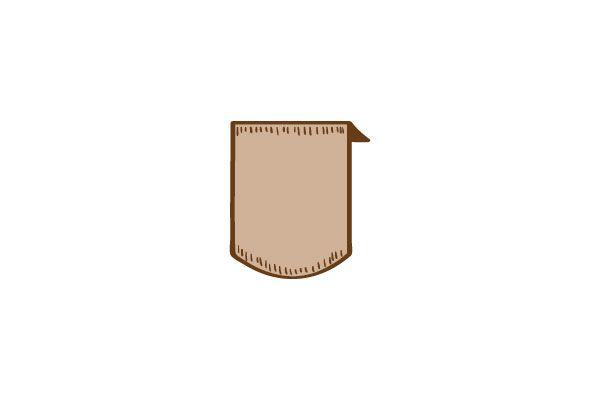 Short Rounded Ribbon Vector Image #ribbons #vectorpack #handdrawnvector http://www.vectorvice.com/ribbons-vector-pack
