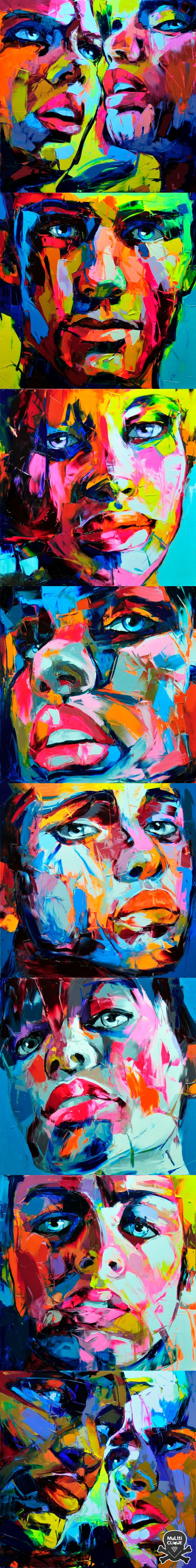 graphic color - Françoise Nielly