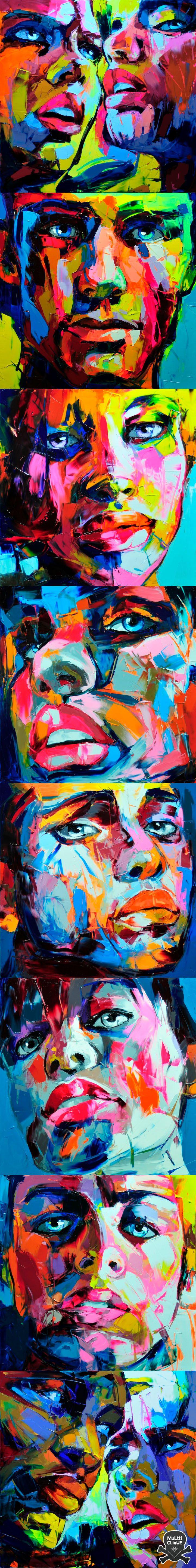 graphic color - Françoise Nielly