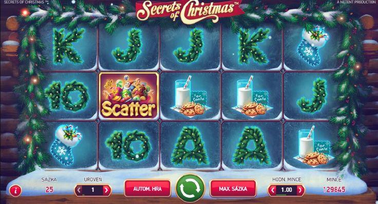 Poďte si rozbaliť svoje prekvapivé výhry čarovných Vianoc! http://www.hracie-automaty.com/hry/secrets-of-christmas-online-automaty #vyhra #secretsofchristmas #jackpot #automatyzadarmo