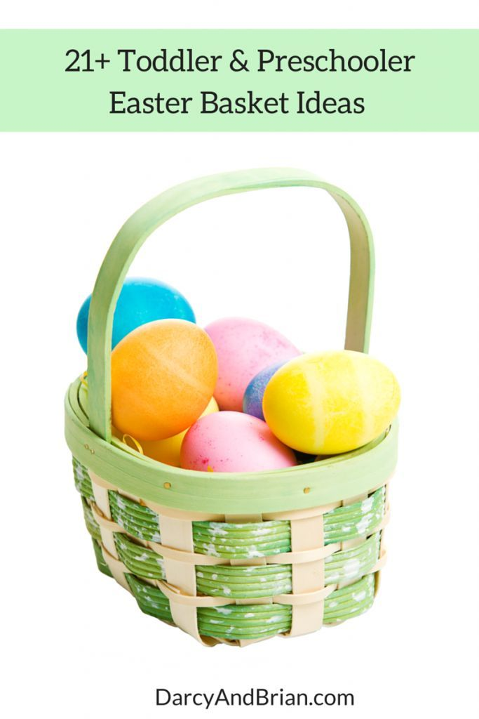 208 best gift ideas images on pinterest holiday gifts christmas 21 easter basket gift ideas for toddlers and preschoolers negle Images