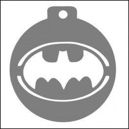 Categoría: Stencils Para Galletas - Producto: Stencil Para Galletas 7Cm-Batman-C073 - Envase: Unidad - Presentación: X Unid.
