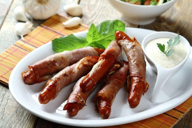 Przepis na Frankfurterki z serem feta