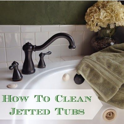 Inexpensive and easy way to clean jetted tubs