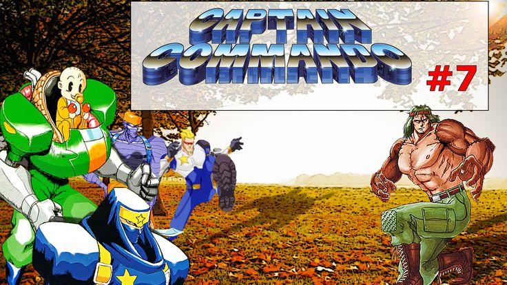 Captain Commando Stage#7 Underground Base|Old Fashion Gamer| ¡Retro! |Ga...
