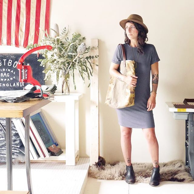 In honor of this Memorial Day weekend, were highlighting Alice Saunders' work with @forestbound. She thoughtfully reuses vintage army bags, jackets, fatigues and duffels to create beautiful new totes. Her bags embody so much character and are a unique way of preserving American history. We love when everyday objects contain so much meaning. 💪🏻🇺🇸