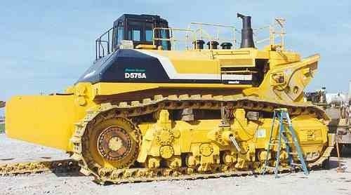 1050hp Komatsu D575A 1 Super Dozer Heavy Equipment