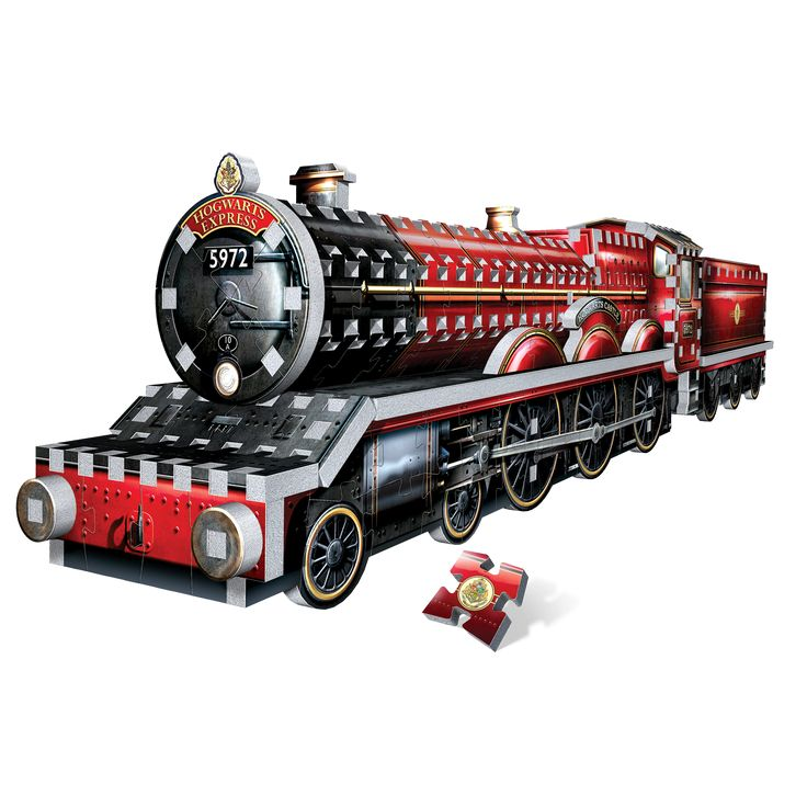 Come on, step right this way! Get on board the Hogwarts™ Express for a magical journey to Hogwarts School of Witchcraft and Wizardry. Build this 460-piece 3D puzzle of the iconic steam engine and embark on a voyage full of surprises!