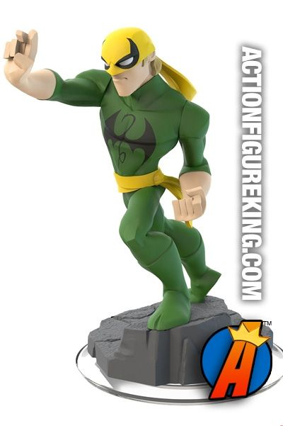 Disney Infinity 2.0 Iron Fist figure.