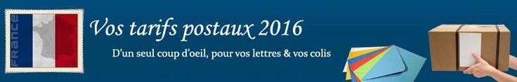 Tarif affranchissement postal 2016