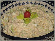 Domowa kuchnia Aniki: Sałatka z tuńczykiem i porem