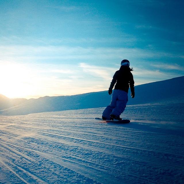 Snowboarding @ Les Menuires