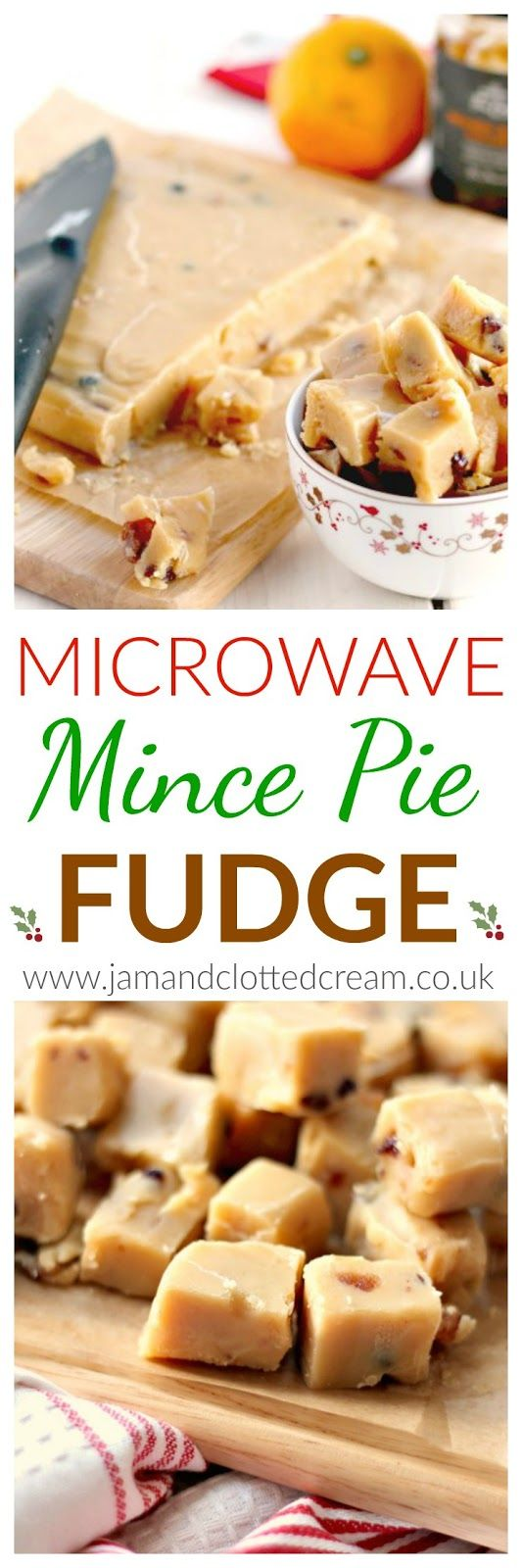 Microwave Mince Pie Fudge. I love all the recipes on this site. check out the slow cooker cabbage for xmas toooooo